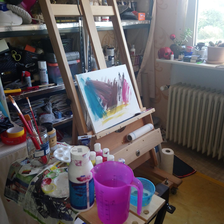Workshop bei mir im Atelier