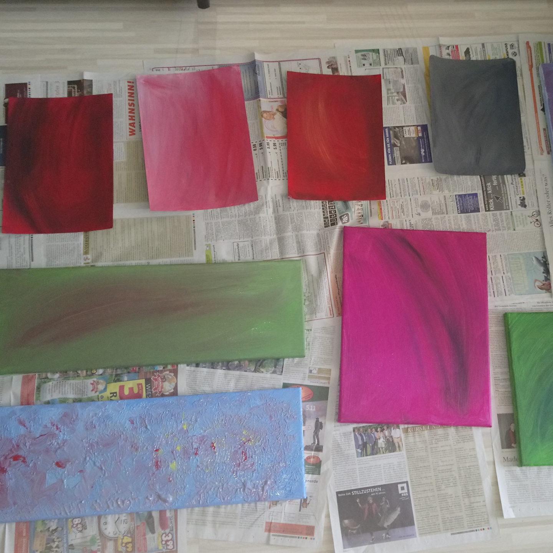 Einblicke in mein kleines Atelier