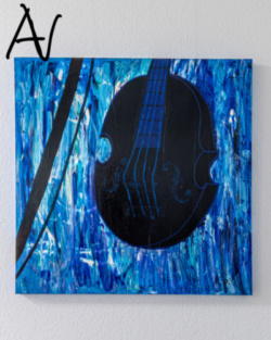 Entwicklung und Entstehung Exponat Die schwarze Geige