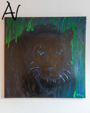 Entwicklung und Entstehung Exponat Der schwarze Panther