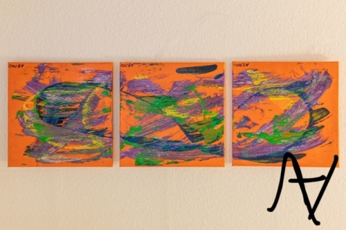 Intention/ Sujet abstrakte Kunst/ Action Painting