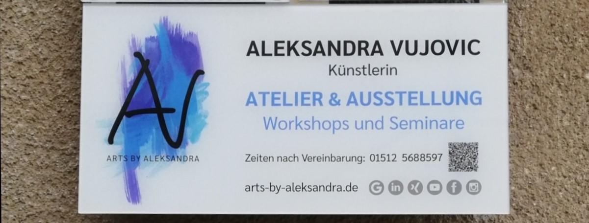 Retrospektive 2020 & Neueröffnung Atelier ARTS by Aleksandra